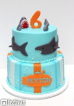 fiesta tematica tiburon - Buscar con Google