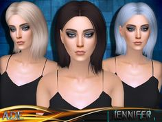 Sims 4 CC's - The Best: Hair by Ade_Darma