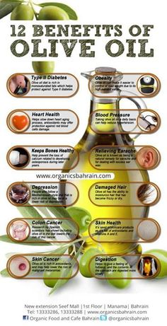 #Olive oil benefits