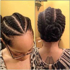 another flat twist style