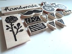 DIY empuñadura hanmade para sellos carvados a mano: http://scrapbookingrules-bones.blogspot.com.es/2013/04/carvado-de-sello-empunaduras-handmade.html