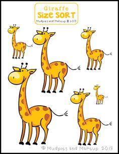 * Giraffe: Van klein naar groot!