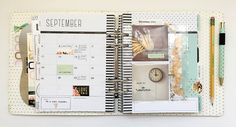 Fun pocket pages in planner