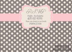 free printable princess party printables