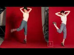 Позы-прыжки для фотосессии