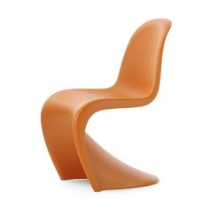 Bring classic, prize winning design to your home with this Tangerine Panton chair from Vitra. Designed by Verner Panton, it was first presented in 1967 & won numerous prizes for its innovative design.