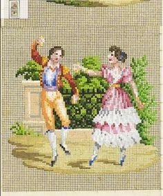 Mini Cross Stitch, Cross Stitch Animals, Cross Stitch Charts, Cross Stitch Patterns, Victorian Pattern, Retro 4, Vintage Cross Stitches, Beaded Bags, Bargello