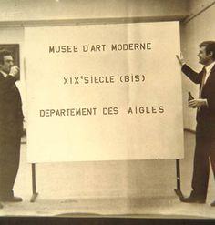 Marcel Broodthaers' Museum of Modern Art, (1968)  miami bourbaki: The star of the art firmament market (fill-in the blanks)