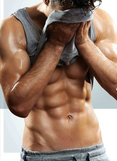 This would be Gideon Cross after his workout...... LOL