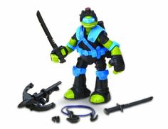Teenage Mutant Ninja Turtles Stealth Tech Leo Action Figure Review