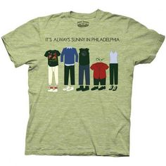 Its Always Sunny - Mens Philadelphia T-Shirt | TV T-shirts | Entertainment | T Shirts