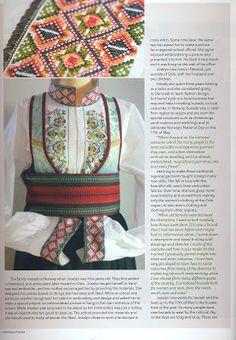 """Forrige dagen dukket det et eksemplar i postkassa. Til min og familiens store begeistring. Bilder av bunader sydd akkurat her i min """"lille stakkestova"""" er presentert i en super fin og inspirerende blad. Og det er nettopp det den heter også, INSPIRASJONS Magazine. Dette var jo veldig, veldig artig! Folk Costume, Costumes, Make Pictures, Going Out Of Business, Second Child, Norway, Cross Stitch, Krage, Culture"""