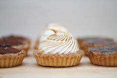 Raspberry tarts, Tarts and Lemon tarts on Pinterest