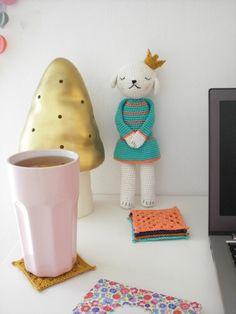 Crochet doll eleonoreandmaurice.com