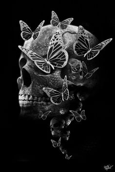 FANTASMAGORIK® DARK BUTTERFLY by obery nicolas, via Behance