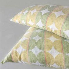 ANICHINI Decorative Pillows & Rugs | Luxury Silk, Brocade, Linen, and Tapestry Pillows Ikat Pillows, Decorative Pillows, Geometric Bedding, Circular Pattern, Polka Dot Fabric, Jute Bags, Silk Brocade, Fabric Swatches, Slipcovers