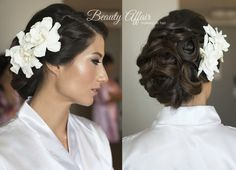 Our recent wedding makeup and hairstyling work — BeautyAffair