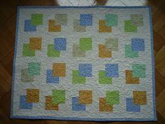 Baby quilt 87x108cm