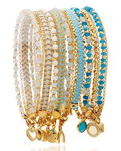 Assorted Friendship Bracelets by Astley Clarke at Neiman Marcus.