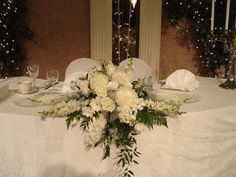 Wedding- Head Table centerpiece