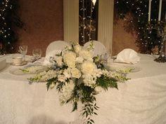 Wedding- Head Table centerpiece