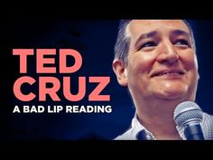 This 'bad lip reading' of Ted Cruz has us laughing so hard our stomachs hurt - http://www.thelivefeeds.com/this-bad-lip-reading-of-ted-cruz-has-us-laughing-so-hard-our-stomachs-hurt/