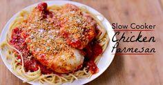 Dump Recipes: The Best Crockpot Chicken Parmesan Recipe!