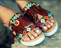 Gladiator sandals Astarte handmade to order by ElinaLinardaki