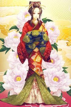 Kimono, habit traditionnel...                                                                                                                                                                                 Plus