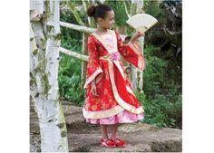 kleurrijke oosterse jurk (3-8j)