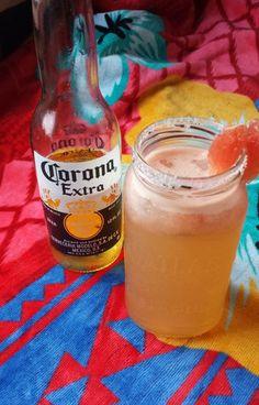 grapefruit beergarita recipe with Corona