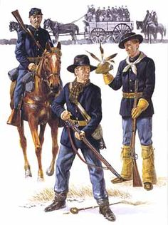 us cavalry and infantry , indian wars - Google Search