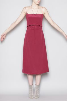 Totokaelo - Rachel Comey - Chernist Dress - Wine
