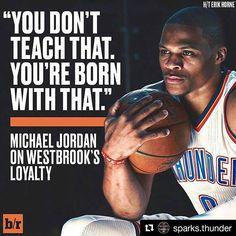 Can't buy you loyalty. Westbrook Okc, Russell Westbrook, Thunder Strike, Thunder Nba, Basketball Quotes, Basketball Players, Thunder Quotes, Oklahoma City Thunder Basketball