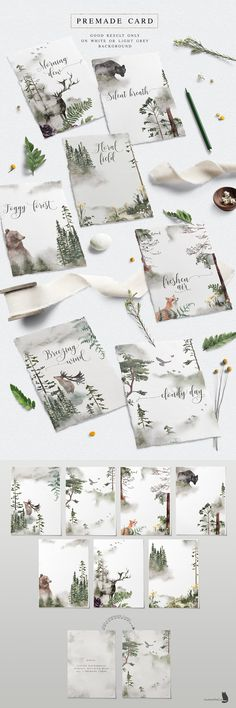 Into the Wild is an collection inspired by nature, with gorgeous flowers and the beauty of pine woodland. Let's every Wild Alphabet bring you to another forest Watercolor Illustration, Graphic Illustration, Watercolor Art, Floral Bouquets, Floral Wreath, Paper Logo, Watercolor Texture, Art Background, Paper Texture