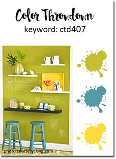 Color Throwdown #407