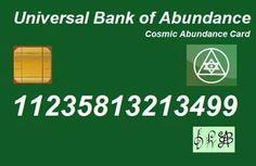 Universal bank of abundance