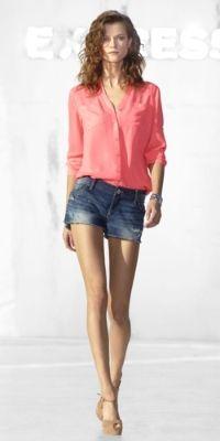 The Portofino Shirt & Denim Short by Express