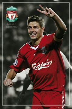 Steven Gerrard is a captain, Steven Gerrard is a red! Steven Gerrard plays for Liverpool, a scouser born and bred! Steven Gerrard Liverpool, Liverpool Fc, Liverpool Captain, Liverpool Football Club, Julian Weigl, British Football, Men's Football, Stevie G, Football Transfers