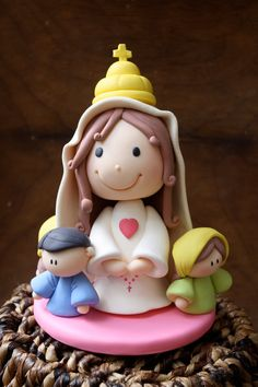 VIrgen de Fatima Mother of God by gavo on Etsy, $50.00