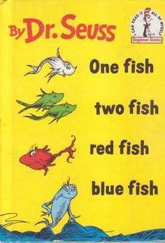 Dr. Seuss books!!