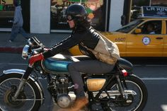 How Happy!! why not ride with your biker boy together? if you are still single, try to find a single biker man at singlemotorcycle.com