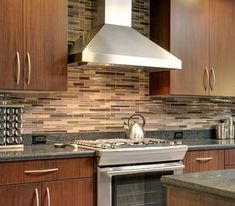 find this pin and more on interior designsideas elegant cabinet color idea feat modern backsplash tile design for kitchen - Kitchen Backsplash Glass Tile Design Ideas