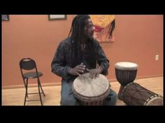 How to Play African Drums : African Drumming Performance