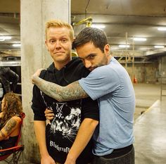 Jeremy and Josh of A Day to Remember