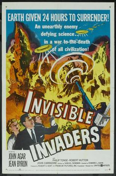 Invisible Invaders… 1956