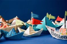 sailboat place cards | CHECK OUT MORE IDEAS AT WEDDINGPINS.NET | #weddings #uniqueweddingideas #unique
