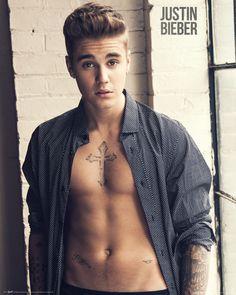 Justin Bieber - Shirt - Official Mini Poster