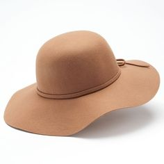 Mudd Felt Floppy Hat, Size: One Size (Beige/Khaki) ($18) ❤ liked on Polyvore featuring accessories, hats, beige hats, floppy brim hat, brimmed hat, bow hat and felt floppy hat