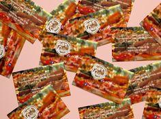 Diseño de las tarjetas del Bar Queen